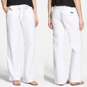 Make Offer Sanctuary White Linen Beachcomber Pants